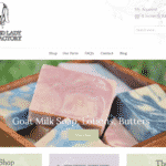 Goat Soap Pixel Rocket Shopify Website Client Bearded Lady