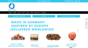Vaping Products Pixel Rocket Shopify Website Client EuroFlavor