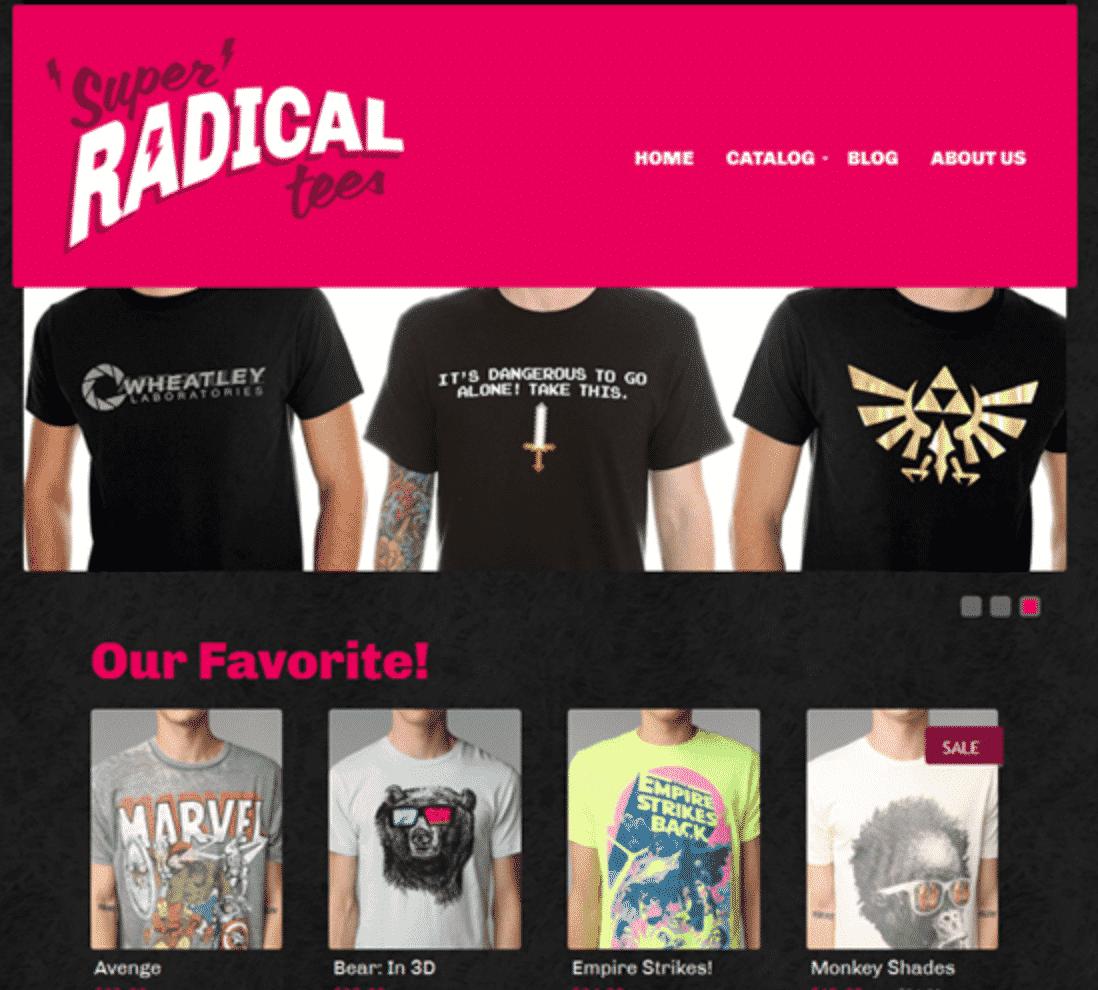 PixelRocket Pre Built Shopify Theme for T Shirts