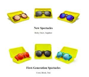 Snapchat Spectacles V1 and V2