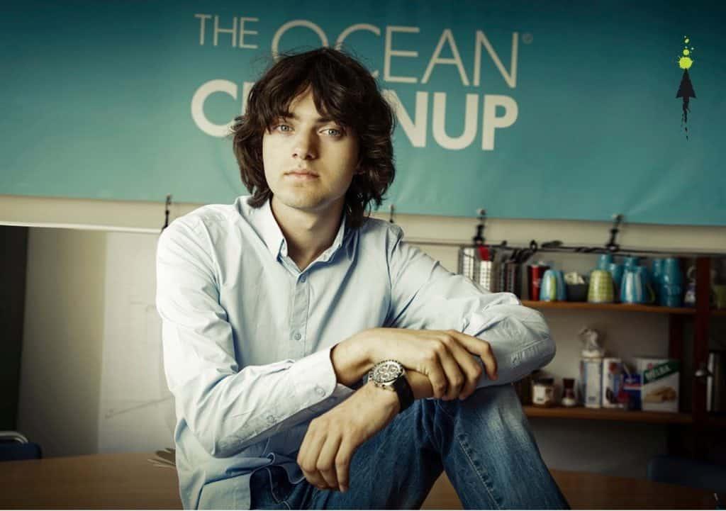 Boyan Slat of the Ocean Cleanup