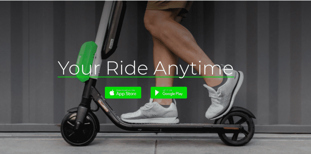 lime bike scooter