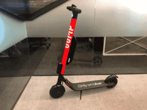 Jump Scooter by Uber