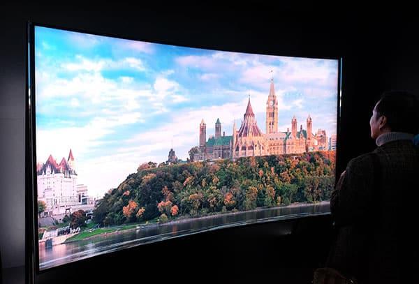 Samsung new 8k television